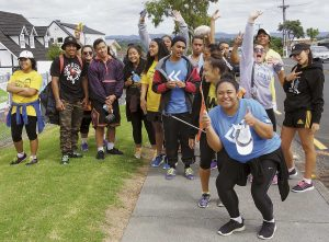 West Auckland youths walk 62.7 km in solidarity with the poor.